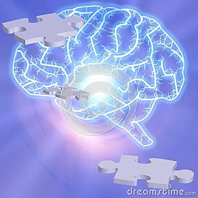 Free Brain Puzzle Stock Image - 3063031