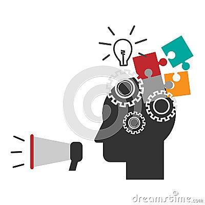 Brainstorm Vector Illustration