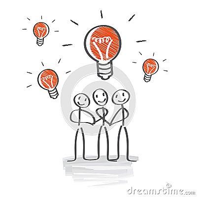 Free Brainstorming, Develop Ideas, Teamwork Stock Images - 37520854