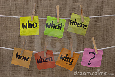 Brainstorming - unanswered questions