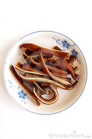 Free Braised Pig S Ear Royalty Free Stock Images - 4864429