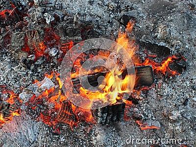 Braises de mort d un feu, cendre de charbon de bois de flammes.
