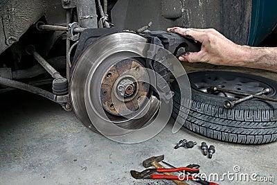 Brake pads four