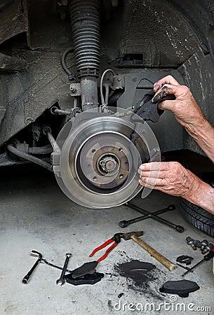 Brake pads two
