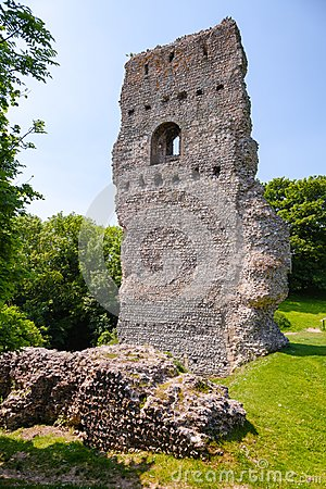 Free Bramber Castle Remains West Sussex  South East England UK Royalty Free Stock Photo - 111832425