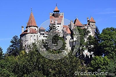 Bran Castle of Dracula - landmark of Transylvania
