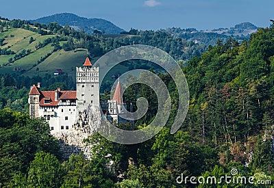 Bran Castle, medieval landmark of Transylvania