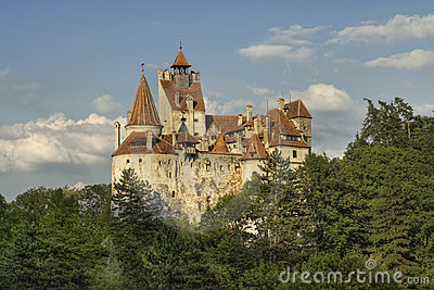 Bran castle, the residence of the Dracula