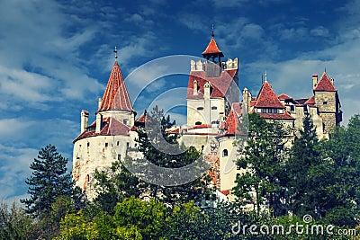Bran Castle, Transylvania Romania, phone style