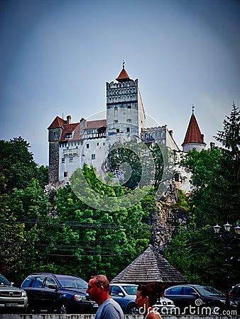 Bran Dracula castle Editorial Stock Photo