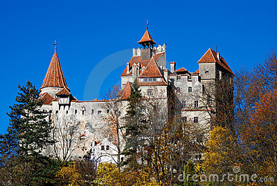 Bran, Dracula`s castle, landmark of Romania