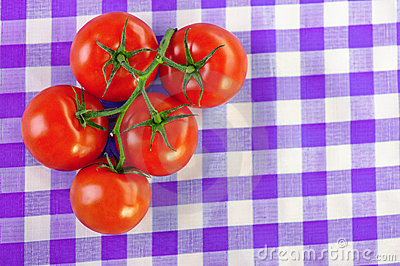Branch five tomatoes