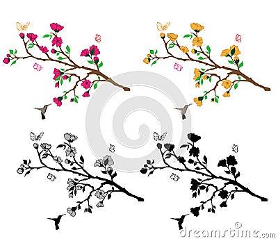 Branches Flower Decla
