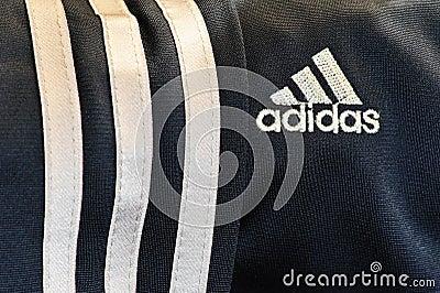 Brand adidas Editorial Stock Image