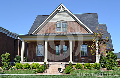 Brand New Brick New England Style Home