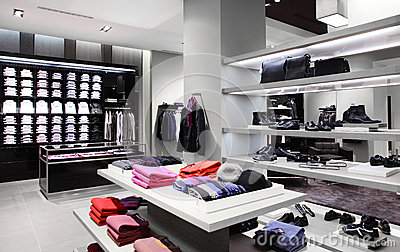 Brand new clothes store