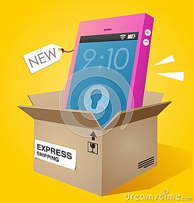 Brand new smartphone