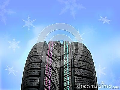Brand new winter tire