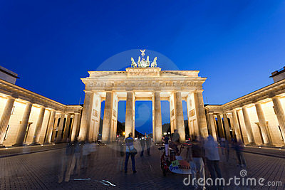 Brandenburg Gate Editorial Stock Image