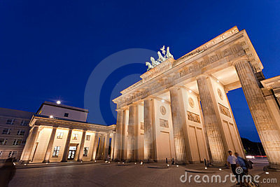 Brandenburg Gate Editorial Photo