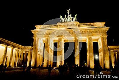 Brandenburg Gate Editorial Photo
