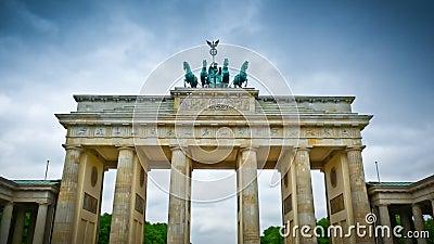 Brandenburg gate front