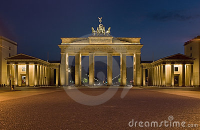 The Brandenburger gate