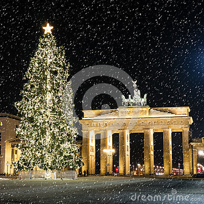 Brandenburger tor in december