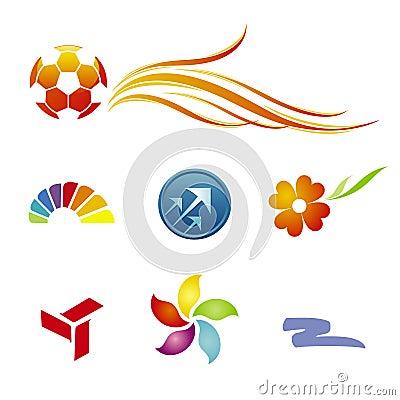 Free Branding / Logo Templates Royalty Free Stock Photography - 7635177