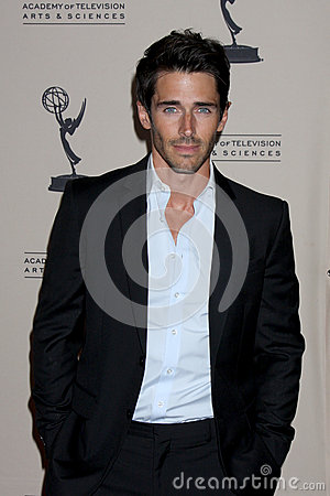 Brandon Beemer arrives at the ATAS Daytime Emmy Awards Nominees Reception Editorial Image