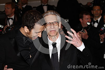 Brandon Cronenberg en David Cronenberg Redactionele Fotografie