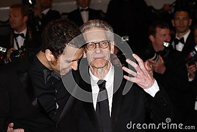 Brandon Cronenberg und David Cronenberg Redaktionelles Stockfotografie