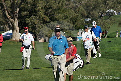 Brandt Jobe 2012 Farmers Insurance Open Editorial Photography