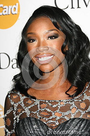 Brandy,Clive Davis Editorial Stock Photo