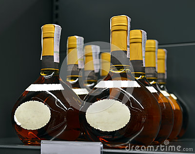 Brandy in the stores