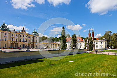 Branicki Palace now The Medical University