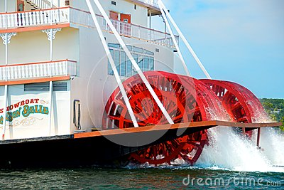 The Branson Belle Showboat Editorial Stock Photo