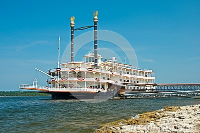 The Branson Belle Showboat Editorial Stock Image