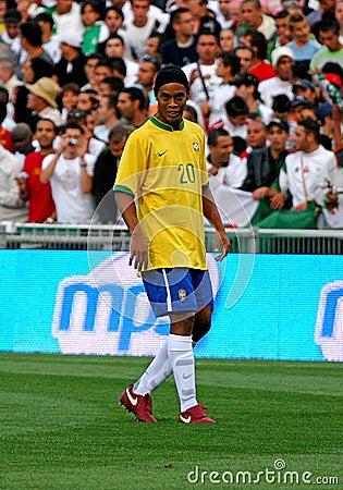 Brasil vs Algeria Editorial Stock Photo