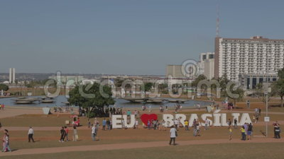brasilia stock videobeelden