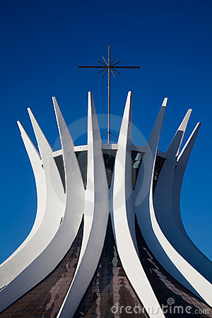 Free Brasilia Cathedral Royalty Free Stock Photography - 16010367