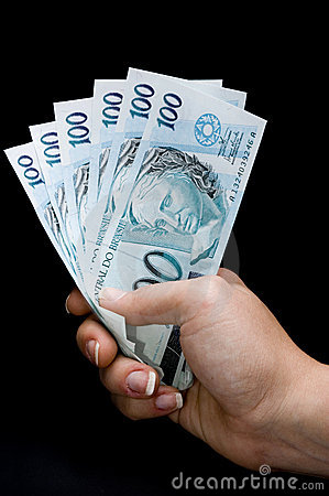Brasilian real notes