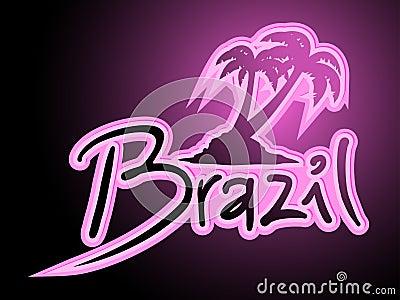 Brasilien mode gömma i handflatan