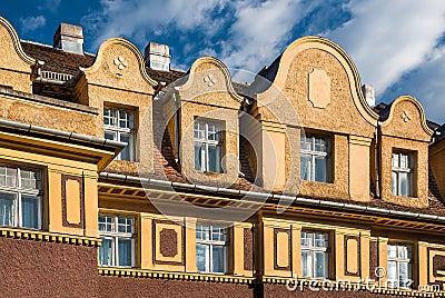 Brasov, architecture detail, Transylvania