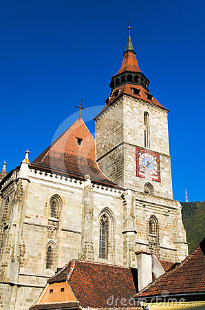 Free Brasov - Black Church Stock Image - 24590511