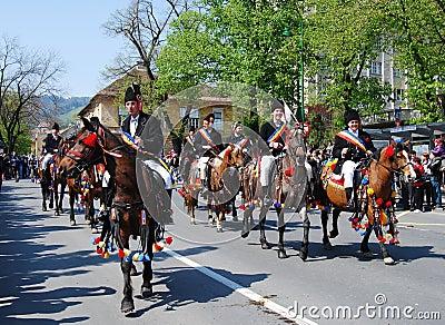 Brasov City celebration days (Romania) Editorial Photo