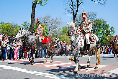 Brasov City celebration days (Romania) Editorial Stock Image