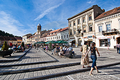 Brasov Council Square Editorial Image