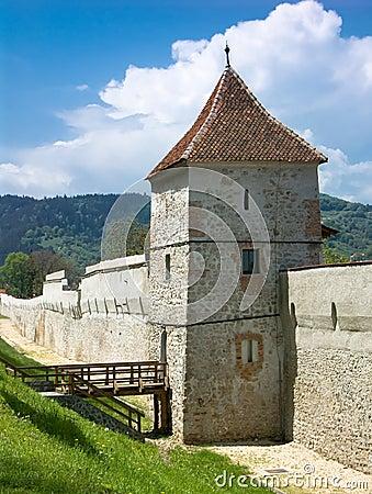 Free Brasov Fortification, Romania Royalty Free Stock Photos - 5215118