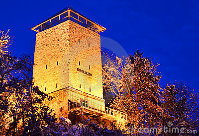 Brasov fortress, Black Tower (Romania landmark)